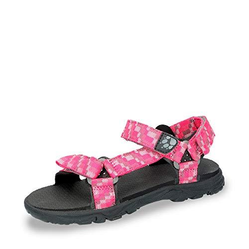 Jack Wolfskin Mädchen Seven SEAS 2 G Sport Sandalen, Pink (Tropic Pink 2145), 36 EU
