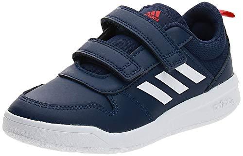 adidas Unisex Kinder Tensaur C Leichtathletik-Schuh, DKBLUE/FTWWHT/ACTRED, 33 EU