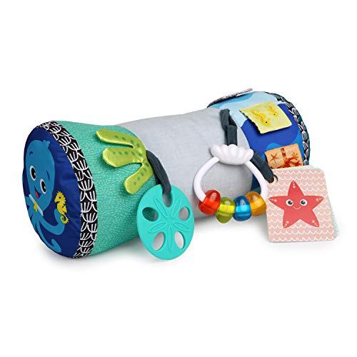 Baby Einstein,  Rhythm of the Reef Sützkissen mit multisensorischen Spielzeugen, ideal für das Spielen in...