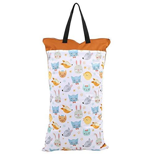 Stoff Windel Tasche Große Hängende Wasserdichte Trockene Wiederverwendbare Waschbare Baby Stoff Windel...