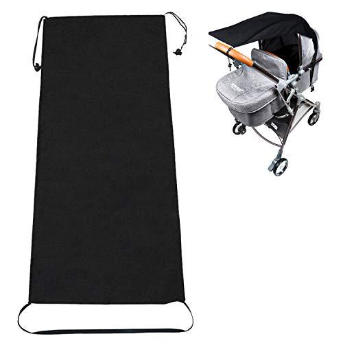 Kinderwagen Sonnensegel, Huttoly Universal Sonnensegel für Kinderwagen/Babywanne, UV Schutz Beschichtung 50+...