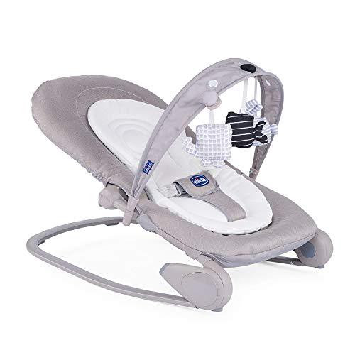 Chicco Hooplà Babywippe von Geburt bis 18 kg, Für Neugeborene oder Kleinkinder, Babyschaukel und Babystuhl,...