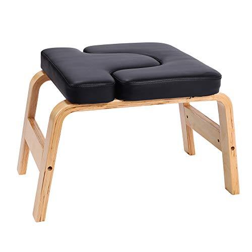 Ejoyous Yoga Kopfstandhocker, Kopfstand Hocker Safe Feetup Kopfstandstuhl Trainingsstuhl Chair Bank Stuhl mit...