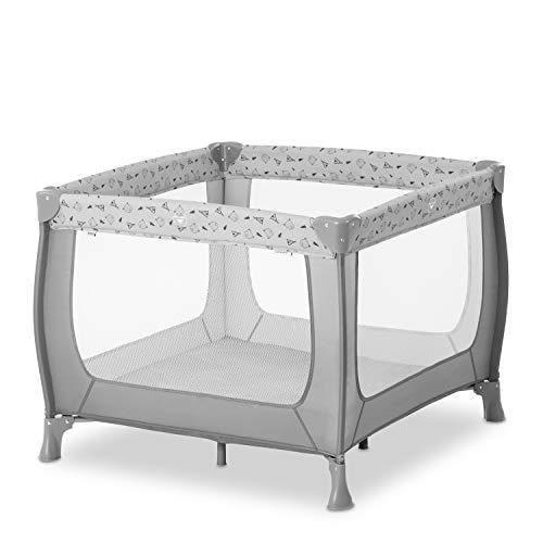 Hauck Laufstall Sleep N Play SQ / Reisebett für Babys und Kinder / ab Geburt bis 15 kg / Quadratisch 90 x 90...