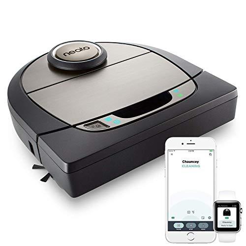 Neato Robotics Botvac D7 Connected - Premium Saugroboter mit Ladestation, Wlan & App - Staubsauger Roboter,...