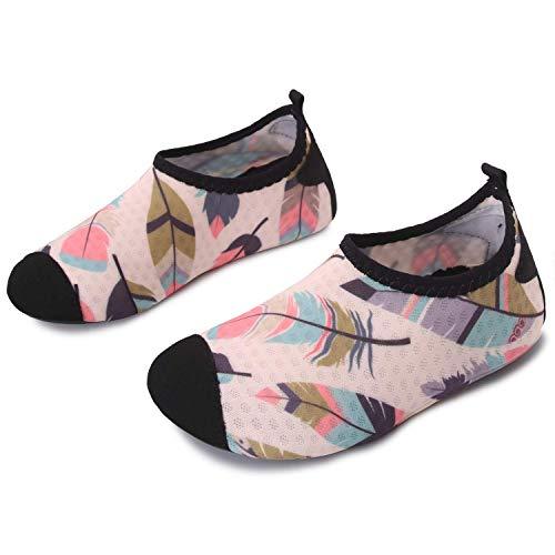 JOINFREE Kleinkind Kinder Wasser Schuhe für Jungen Mädchen Schwimmen Socken Schuhe für Strand Pool...