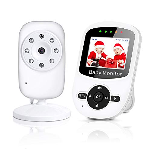 NWOUIIAY Baby Phone Baby Monitor 2.4 GHz Baby...