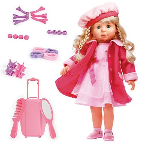 Bayer Design: Funktionspuppe Charlene - Eine Puppe die 90 Sätze spricht und Lieder singt