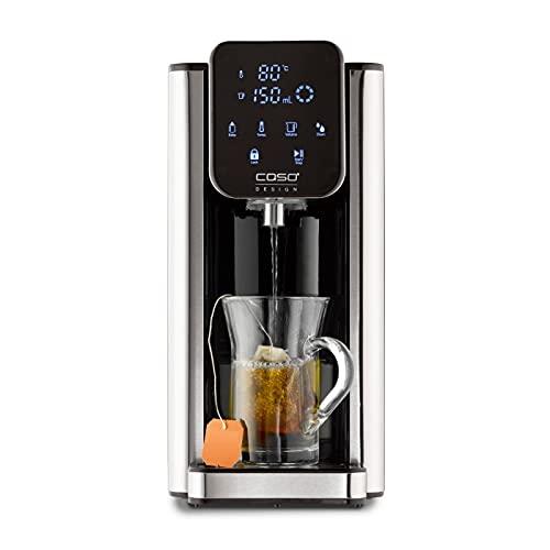 CASO Turbo Heißwasserspender HW660, 2600 W, 40 - 100°C, 100-400 ml, heißes Wasser in Sekunden, effizient...