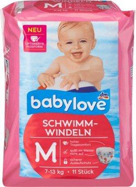 babylove Schwimm-Windeln Größe M, 7-13 kg, 1 x 11 St