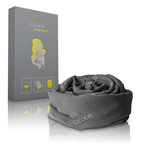 COCOON® Baby Tragetuch – Elastisches Tragesystem für Früh- & Neugeborene - bis zu 15kg – Babytragetuch...