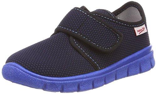 Superfit Jungen Bobby_268 Haus Schuhe, Blau (Ocean Kombi 81), 28 EU