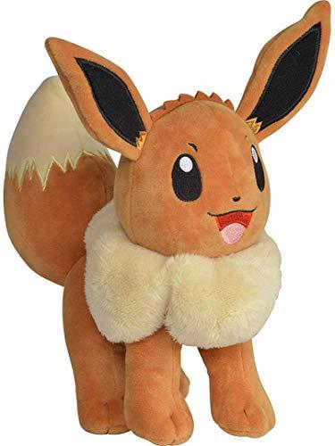 "BANDAI – Pokémon-Plüschtier ""Evoli"", 20cm – WT95221"
