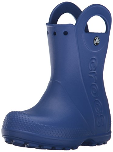 crocs Unisex - Kinder Handle It Rain Boot Gummistiefel, Blau (Cerulean Blue 4o5), 23/24 EU
