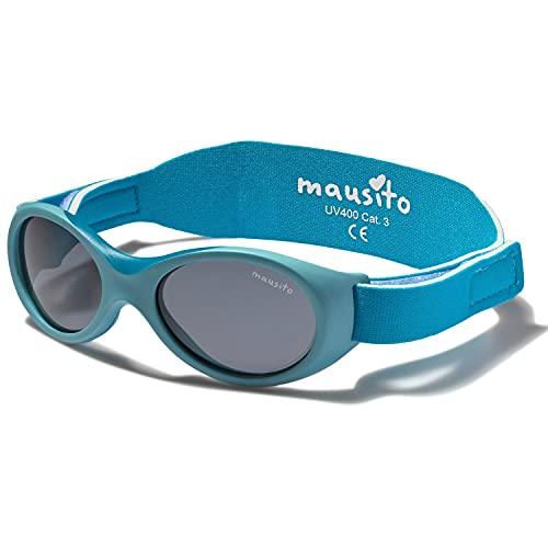 Mausito® BABY Sonnenbrille 0-1,5 Jahre Jungen & Mädchen I biegsame Sonnenbrille für Kleinkinder I 100%...
