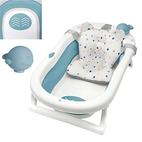 Primabobo My Toy klappbare Badewanne für Babys im Alter von 0-36 Monaten, Neugeborenenwanne mit rutschfesten...