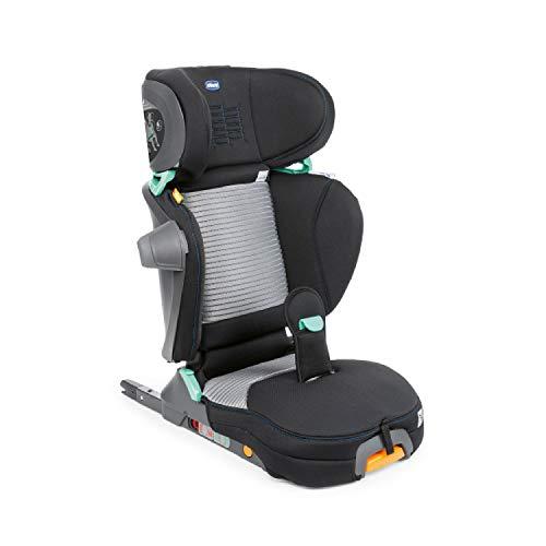 Chicco Fold & Go i-Size Auto Kindersitz 100-150 cm, Verstellbarer Kinderautositz für Kinder von ca. 3-12...