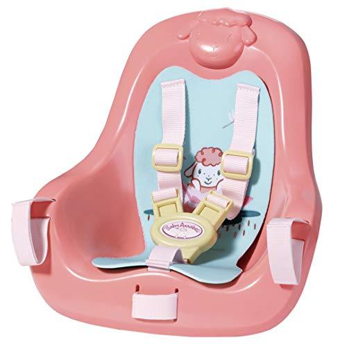Zapf Creation 703335 Baby Annabell Active Fahrradsitz mit Gurtsystem, schnell und leicht anzubringen,...