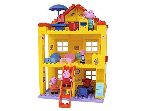 BIG-Bloxx Peppa Pig Haus - Peppa´s House, Construction Set, BIG-Bloxx Set bestehend aus Familie und Gebäude,...