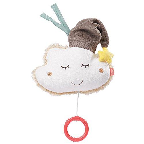 Fehn 060133 Spieluhr Wolke – Aufzieh-Spieluhr mit herausnehmbarem Spielwerk – Melodie 'Schlaf Kindlein...
