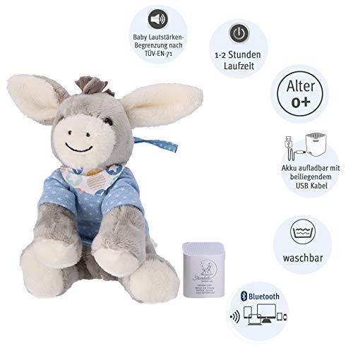 Sterntaler Baby-Chilling-Box Emmi (DE 34407560), Digitale Spieluhr, Inkl. Bluetooth-Lautsprecher und...