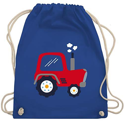 Shirtracer Fahrzeuge Kind - Kinder Traktor - Unisize - Royalblau - rucksack traktor kindergarten - WM110 -...
