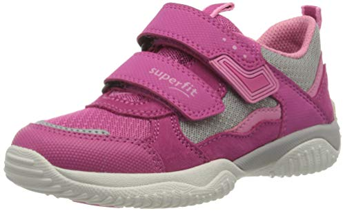 Superfit Mädchen Storm Sneaker, Pink (Rosa/Grau 55), 37 EU