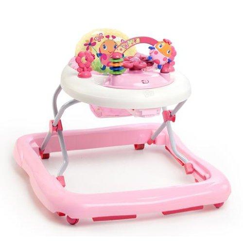 Bright Starts June Berry höhenverstellbare Lauflernhilfe mit abnehmbarem Spielzeug, Lichtern, Melodien,...
