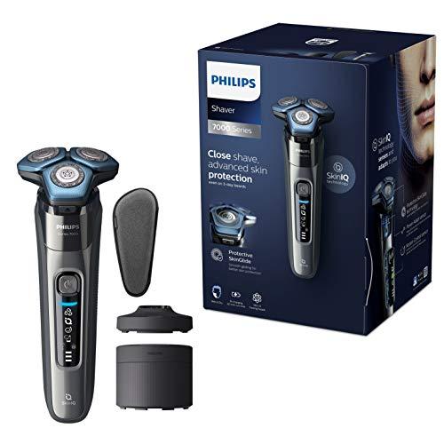 Philips Series 7000 Elektrischer Nass- und Trockenrasierer S7788/55, Gründliche & sanfte Rasur bei...