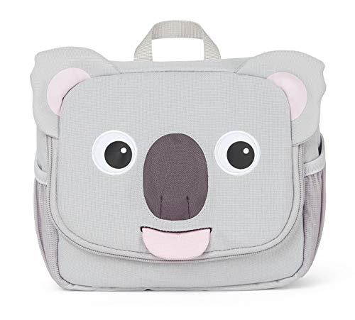 Affenzahn Kulturtasche - für 1-3 Jährige Kinder 17 x 20 x 7 cm - Koala - Grau