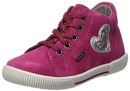 Richter Kinderschuhe Jungen Mädchen Vali 2546-8111 Sneaker, 7701lampone/silver/eggpl, 24 EU