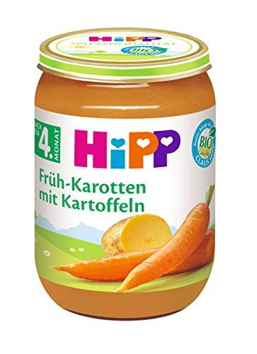 HiPP Früh-Karotten mit Kartoffeln Bio, 6er Pack (6 x 190 g)