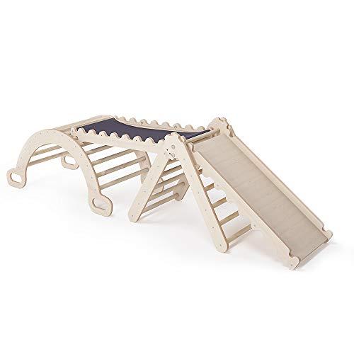 MAMOI Triangle Gym Dreieck v.2 für Kinder Modernes | Klettergerüst Indoor minimalistisches Design |...
