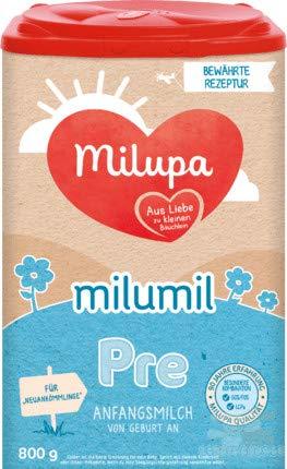 Milupa Milumil Pre Anfangsnahrung, 2er Pack (2 x 800g)
