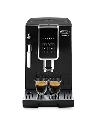 De'Longhi Dinamica ECAM 350.15.B Kaffeevollautomat mit Milchaufschäumdüse für Cappuccino, mit Espresso und...