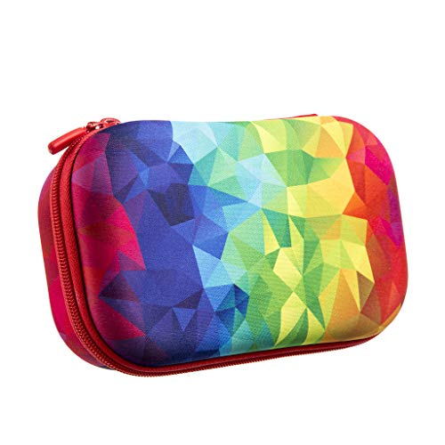 ZIPIT Fresh Colorz Federmäppchen / Etui / Stifteetui, Kaleidoskop