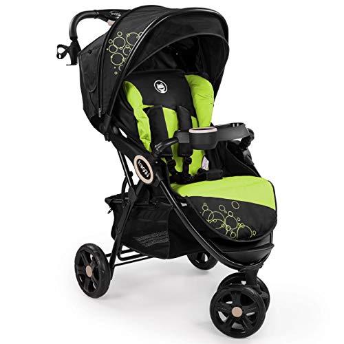 Froggy® Kinderbuggy DINGO Kinderwagen Buggy Jogger ultraleicht 5-Punkt-Sicherheitsgurt kompakt...