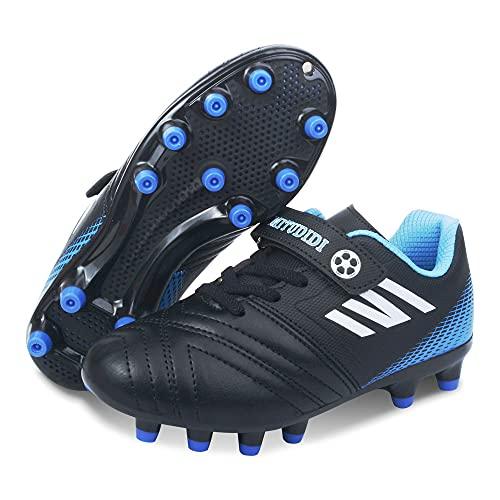 Fussballschuhe Kinder Jungen 34 Fußballschuhe FG/AG Football Shoes Unisex Low Top Fussball Schuhe Junge...