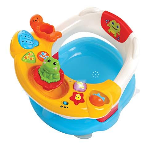 Vtech Aquasilla 2-in-1 Badesitz und Aktivitätsplatte, Spielzeug, Spielzeug für drinnen und draußen,...