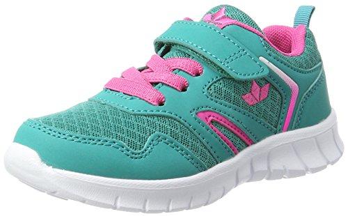 Lico Skip VS Damen Sneaker, Türkis/ Pink, 35 EU