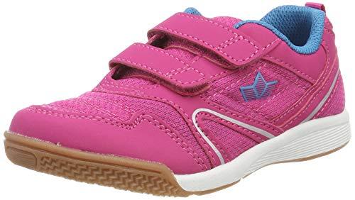 Lico BOULDER V Unisex Kinder Sneaker, Pink/ Türkis, 31 EU