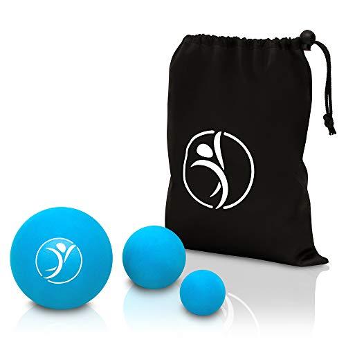diRiva PREMIUM Faszienball [3er Set] ● Massageball Set in verschiedenen Größen ● inkl. E-Book ● mit...