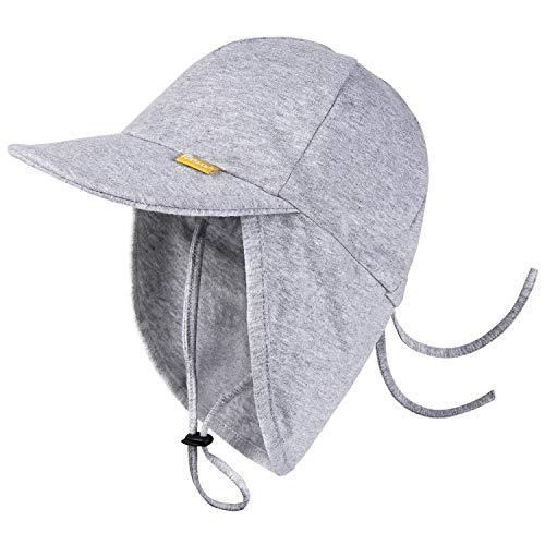 FURTALK Kleinkind Sonnenhut UPF 50+ Ganztägiger UV-Schutz Kappe Mädchen & Jungen Sommer Kappe mit...