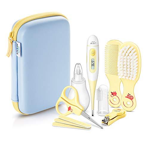 Philips AVENT SCH400/00 Babypflege-Set enthält alle Pflegeartikel, gelb