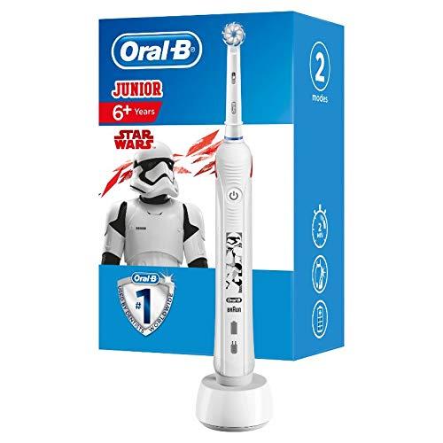 Oral-B Junior StarWars Wiederaufladbare Elektrische Zahnbürste Powered By Braun, 1Handstück,...