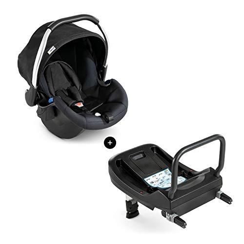 Hauck Babyschale Comfort Fix inkl. Isofix Base/ECE Gruppen 0 ab Geburt bis 13 kg...