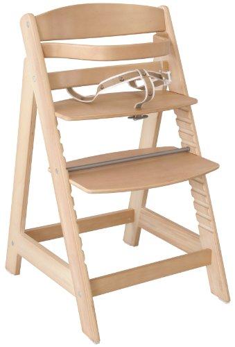 roba Treppenhochstuhl Sit Up III, mitwachsender Hochstuhl vom Babyhochstuhl bis zum Jugendstuhl, Holz,...