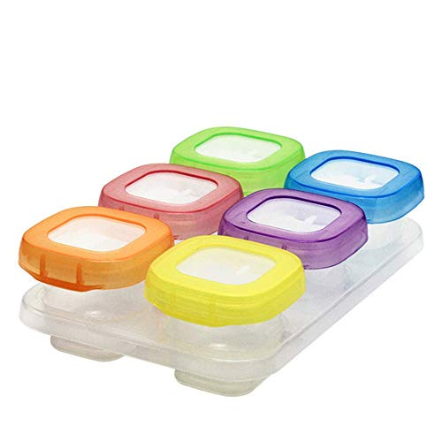 Babybrei Aufbewahrung Babynahrung Einfrieren Behälter,Babynahrung Aufbewahrung,Baby-Nahrungsergänzung...