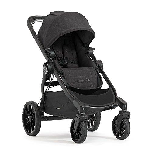 Baby Jogger City Select LUX Kinderwagen| einfach bis doppelt | Zusammenklappbarer und tragbarer | Granite...