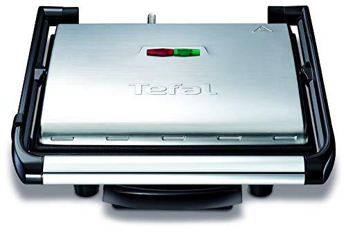 Tefal Kontaktgrill Inicio GC241D [Elektrogrill / Sandwichtoaster; fettarmes Grillen; Panini, Toasts, Steak,...